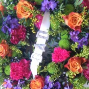 12 inch Wreath Vibrant colours